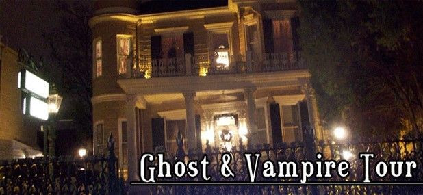 Ghost and Vampire Tours in New Orleans