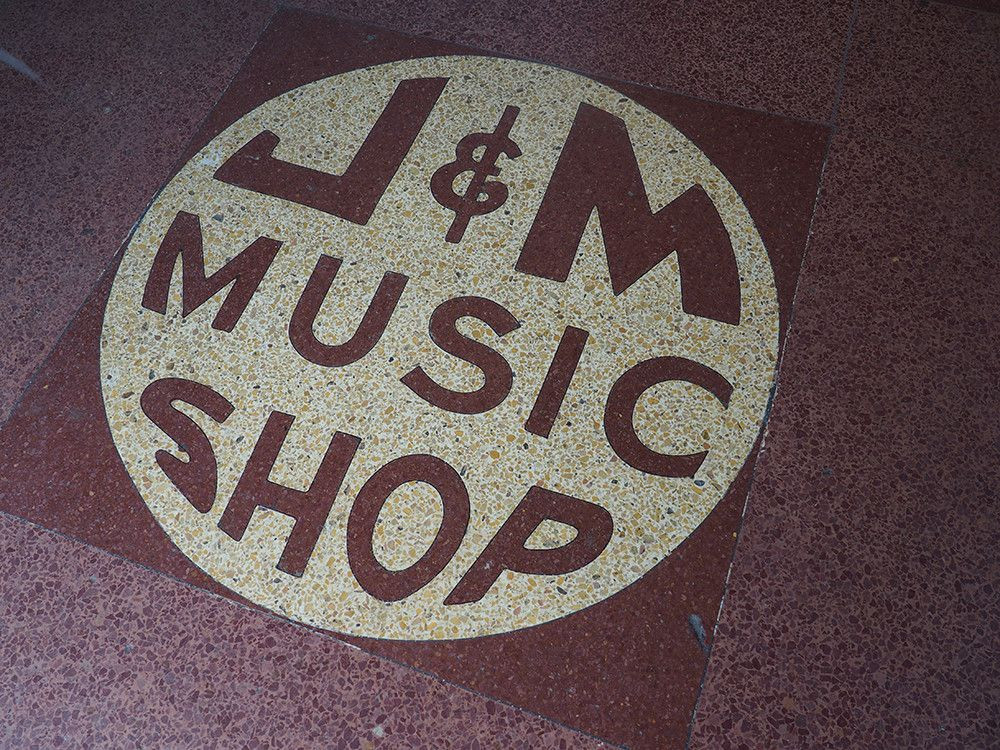 J & M Music Shop in New Orleans